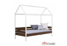 Дерев'яне ліжко Аммі (Масив) (без шхляд та захисної планки)