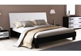 """Ліжко 140 М`яка Спинка непідйомне (нова конструкція без каркаса) """"Віола"""""""