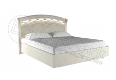 """Ліжко 1,6х2,0 (нова конструкція без каркаса) """"Роселла Радіка Беж"""""""