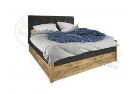 "Ліжко 1,6х2,0 М'яка Спинка з шухлядами(без каркаса) ""Рамона"""