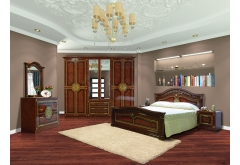 Комплект Спальні Діана з 4-ох дверною шафою (без каркаса та матраца)