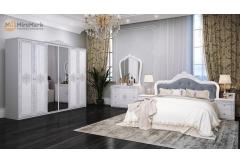 Комплект Спальні Луіза 6-ти дверною шафою