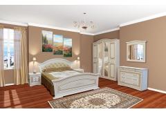 Комплект Спальні Ніколь з 5-ти дверною шафою (без каркаса та матраца)
