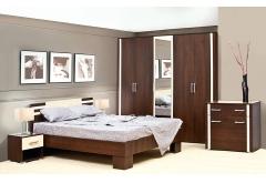 Комплект Спальні Елегія з 5-ти дверною шафою (без каркаса та матраца)