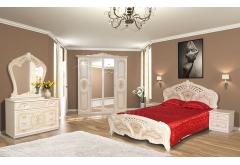 Комплект Спальні Кармен Нова з 4-ох дверною шафою (без каркаса та матраца)