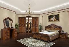 Комплект Спальні Кармен Нова з 6-ти дверною шафою (без каркаса та матраца)