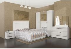 Комплект Спальні Екстаза з 4-ох дверною шафою (без матраца)