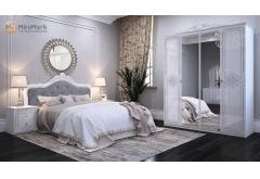 Комплект Спальні Луіза 4-ох дверною шафою