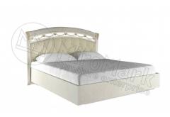"""Ліжко 1,6х2,0 М`яка Спинка без каркаса """"Роселла Радіка Беж"""""""