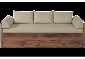 "J 024А Ліжко розсувне JLOZ 80 160 без матраца без подушок ""Індіана"""