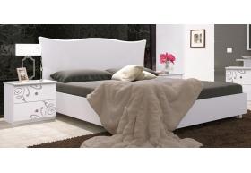 Ліжко 160 Підйомне Мяка Спинка (укомплектоване з ламелею)
