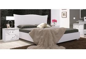 Ліжко 180 Підйомне Мяка Спинка (укомплектоване з ламелею)