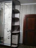 Шафа-купе ДСП: Ріголето світле + Каштан