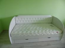 Дитячі Ліжка ДСП: Дитяче ліжечко з шухлядками Симфонія
