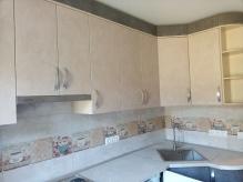 Кухня МДФ: Стоун 294-12 А1,42 + Бетон бежевий наружний В129