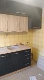 Кухня МДФ: Графіт матовий 001 + Дуб Сан-Ремо 2839