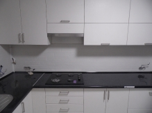 Кухня МДФ: Білий софт 01