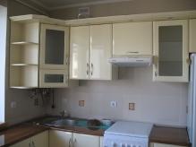 Кухня МДФ: Ваніль глянець