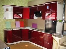 Кухня МДФ: Марс глянець
