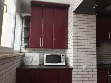 Кухня МДФ: Техно Бордо
