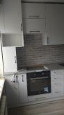 Кухня МДФ: Білий Металік