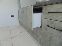 Кухня МДФ: Мрамор Сірий 294-3
