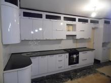 Кухня МДФ: Білий Глянець