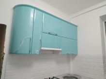 Кухня МДФ: Аквамарин глянець