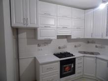 Кухня МДФ: Біла структура