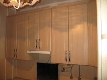 Кухня МДФ: Льон світлий