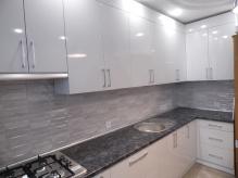 Кухня МДФ: Білий Металік МА 10 GP