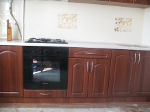 Кухня МДФ: Італійський горіх