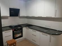 Кухня: МДФ: Білий софт
