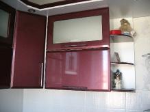 Кухня МДФ: Бордо металік
