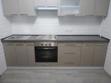 Кухня МДФ: Сірий камінь матовий
