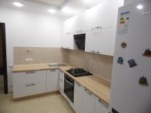 Кухня МДФ: Білий Бархат АЙС