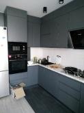 Кухня МДФ: Фарба Антивандальна Графіт