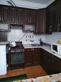 Кухня МДФ: Горіх Шпон (патина) 5203