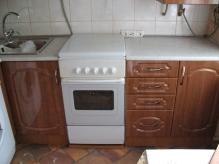 Кухня МДФ: Горіх мілано перламутр