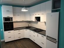 Кухня: МДФ: Білий софт (супер мат)