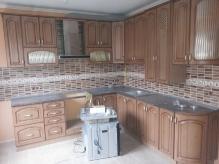 Кухня МДФ: Дуб натуральний + Патина коричнева