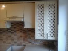Кухня: МДФ: Мокка глянець + Крем глянець