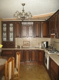 Кухня: МДФ: Дуб золотий + патина чорна