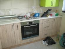 Кухня: МДФ: Сонома світла + лайм глянець