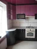 Кухня: МДФ: Галактика чорна + Бузок металік