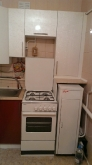 Кухня МДФ: Лілія червона + Лілія біла