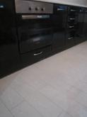 Кухня МДФ: Чорний глянець + Білий глянець