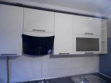 Кухня МДФ: Смокі софт + Ваніль софт