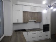 Кухня МДФ: Дуб Сантана + Білий лотос