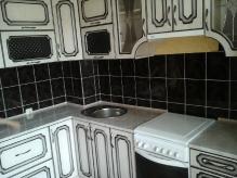 Кухня: МДФ: Ясень патина + патина чорна 2 р